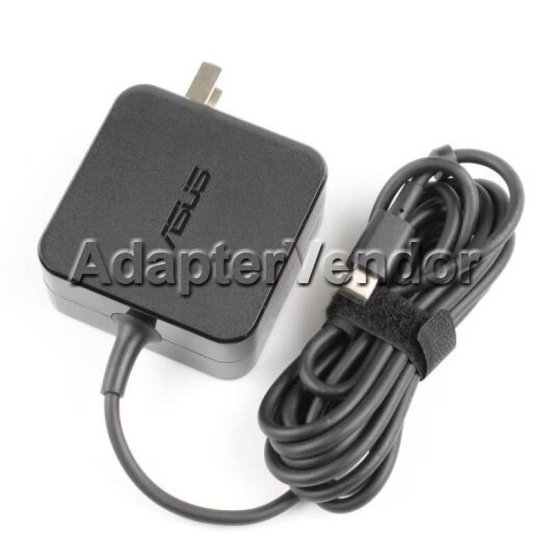 Original 45w Usb C Ac Power Adapter Charger Asus Chromebook Flip C302