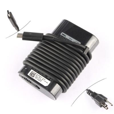 Original 45W USB-C Dell DA45NM180 36HFH 036HFH AC Adapter Charger
